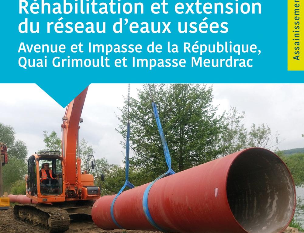 Travaux d'assainissement – Avenue de la République
