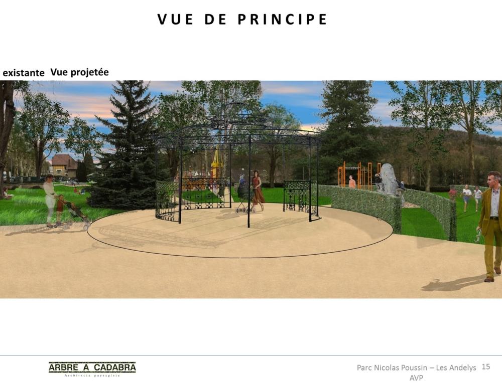 Projet réaménagement du square Nicolas Poussin