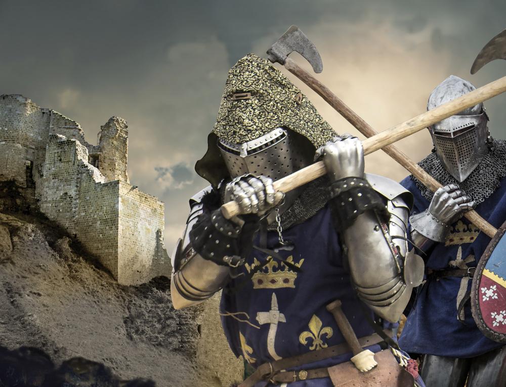 Combat médiéval – Tournoi des ANDELYS