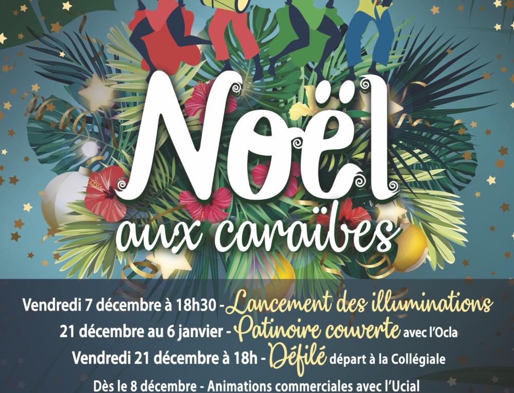 Festivités de Noël sous le thème des Caraïbes avec l'OCLA et l'UCIAL