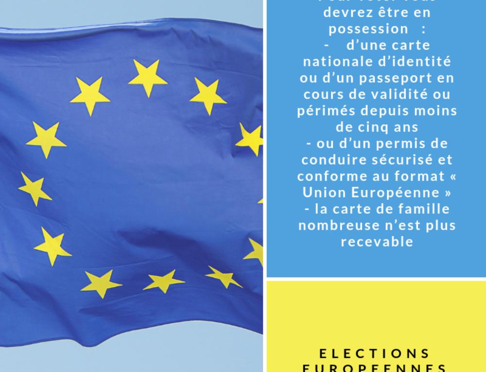 Élections européennes : vérifiez vos pièces d'identité