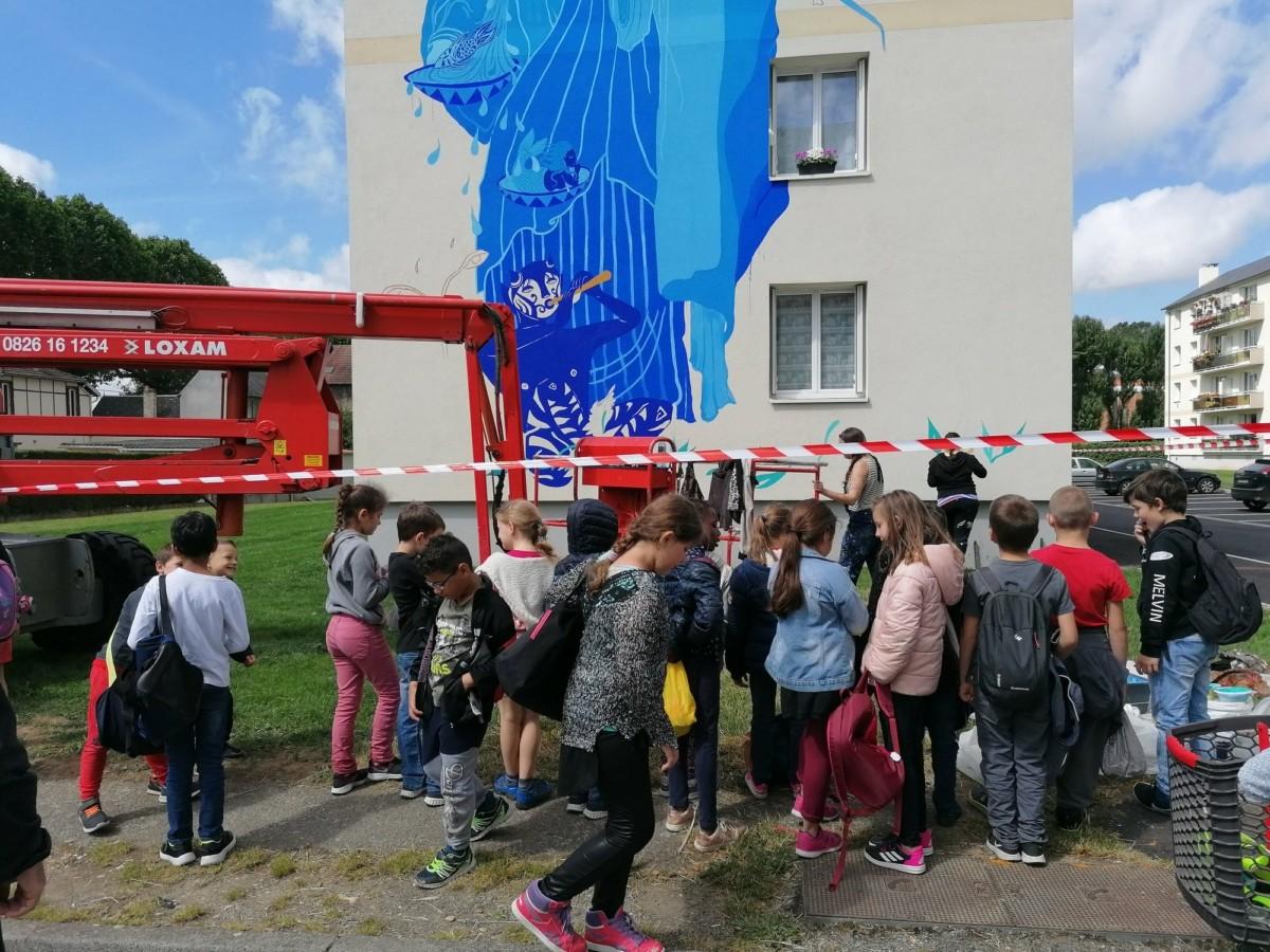Atelier Pour Les Enfants Histoire Et Patrimoine Initiation Au Street Art Art Urbain Ville Des Andelys